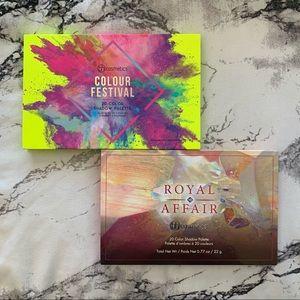 BH Cosmetics Royal Affair & Colour Festival Duo